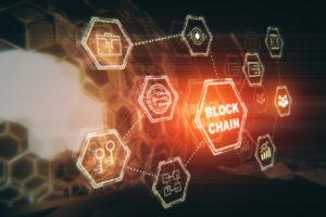 ブロックチェーンとdAppsのイメージ