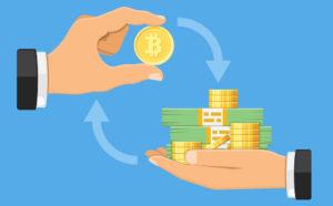 暗号資産(仮想通貨)取引所イメージ
